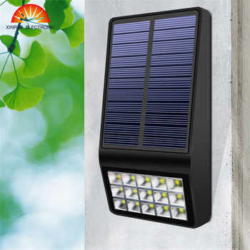 XINREE 2018 New Led Solar Light Led Light Outdoor Lighting Wall Fence Solar Lamp Yard Path Garden Waterproof Solar Lamps - DISCOUNT ITEM  0% OFF All Category