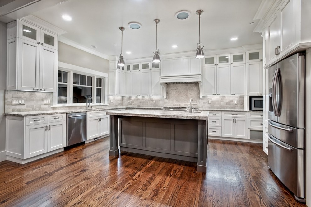 2017 armario de la cocina personalizada Muebles de cocina Gabinete de la cocina clásica diseño de armario de cocina