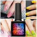 Saviland 1Pcs 10ml Temperature Changing Gel Color Chameleon Varnish Nail Gel Polish Thermal Gel Lacquer Need UV LED Gel
