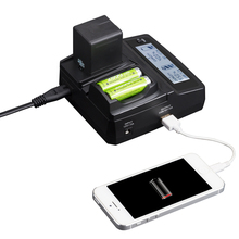 LVSUN Universal Camera AA Phone Car DMW-BCJ13E DMW-BCJ13 Charger Power For Gopro Hero 5 4 Canon Panasonic DMC-LX5 DMC-LX7 LX5