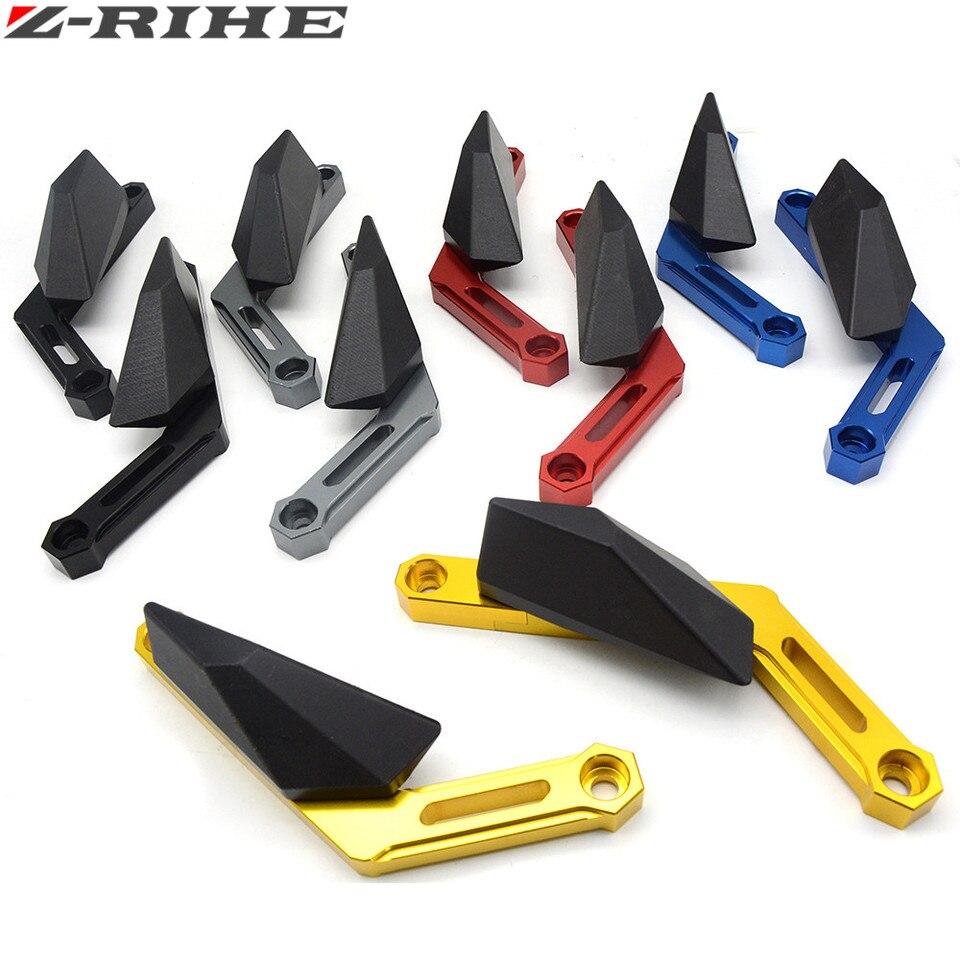 Color : Black Curseur de Cadre de Moto Cadre Moto Sliders Protecteur Crash Chute Protection for Yamaha MT09 MT09 FZ09 FZ09 XJR400 XJ600 FZ1N FZ800 FZ6N Utilis/é dans Les Motos