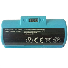 HOT!New Alternative Rechargeable 3.6V 5300Mah Li-Ion Battery For Irobot Braava Jet240 Vacuum Cleaner Sweeper