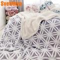 Svetanya Double-Sided Throws Blanket Thick warm Berber Fleece Polyester Plaids winter Bedsheet