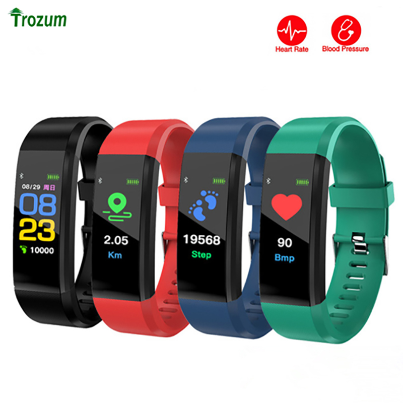 ID115Plus Smart Wristband Bluetooth smart band Heart Rate Monitor Fitness tracker 115 Plus Smart Bracelet For Android IOS Phone