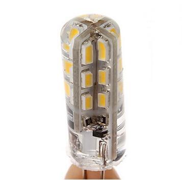 10 X BEEFORO 1.5W G4 LED Corn Lights T 24 SMD 3014 100-120 lm Warm White / Cool White DC 12 V