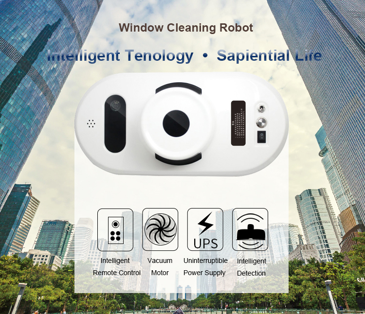 Electric Window Cleaning Robot Remote Control Glass Window Cleaner Glass/ Floor Cleaning Machine