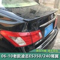For Lexus ES250 Spoiler ABS Material Car Rear Wing Primer Color Rear Spoiler For Lexus ES250 ES300 ES350 Spoiler 2008 2012