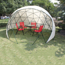 High-grade Outdoor Leisure Kiosk Rain-proof Greenhouse Fishing Tent Family Friends Gathering Tents