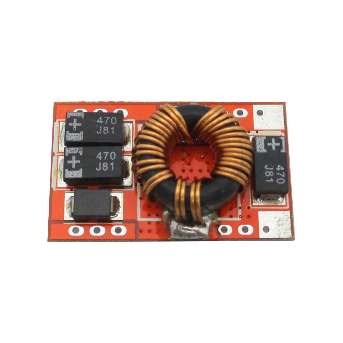 JFBL Hot Boost module special efficiency 92% DC-DC boost circuit board 5V / 3A instant 5A ultra-small volume