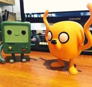 Image 4 - Funko Pop Kids Favor Cartoon Adventure Time Bmo Jake Action Figure Vinyl Poppen Ice King Collectible Model Toys Voor Verjaardag gift
