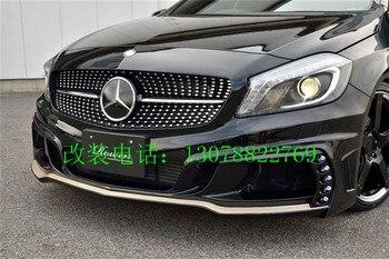 Için Fit Mercedes Benz A-sınıfı ROWEN W176 A180 200 250 260 A45 Modifiye Karbon Fiber Arka Kanat Arka Spoiler Kanat