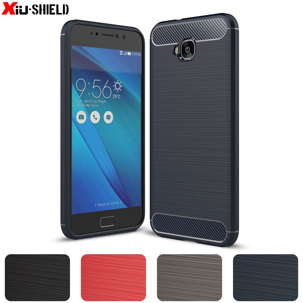 buy online d5580 f49ea US $4.24  Case for ASUS Zenfone 4 Selfie ZD553KL X00LD ZD 553KL ZD553 553  KL Silicone Case Phone TPU Cover for ASUS_X00LD ZD553KL Cases-in Fitted ...