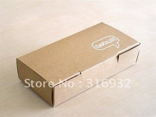 E1 Korea fashional egg tart kraft box, 40pcs/lot