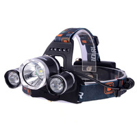 Best 5000 Lumen CREE XM-L T6 LED Headlamp Headlight Caming Hunting Head Light Lamp 4 Modes +2*18650 Battery + AC/Car Charger