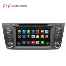 1024*600 Quad Core Android Coche DVD Radio GPS para geely 5.1.1 EX7 con DVR Wifi SWC BT USB enlace espejo