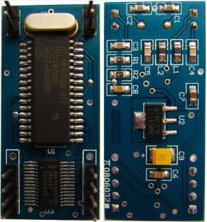 13.56M HF RFID module,ISO14443A ,RFID reader ,RFID module +1 Antenna free and free shipping rfid transponders