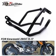 مصد لحماية إطار الدراجة النارية مصد صدمات للمحرك الأمامي قضبان مصد للصدمات متوافقة مع Kawasaki Z800 2013 2014 2015 2016
