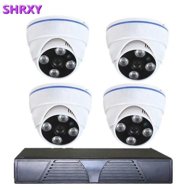 Home Security 4CH 960H HDMI DVR 4PCS 800TVL Outdoor CCTV Camera ...