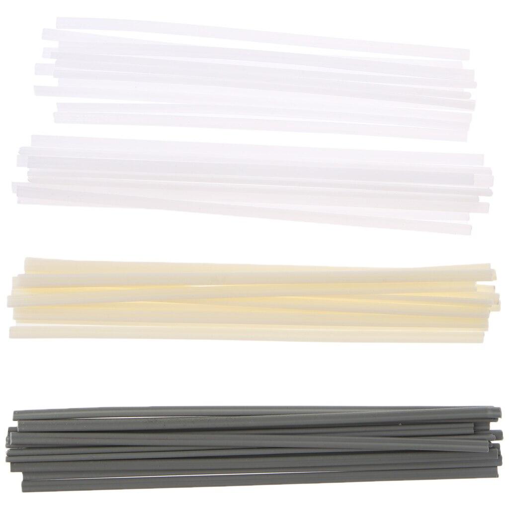 50 個 New プラスチック溶接棒 ABS/PP/PVC/PE 溶接スティックプラスチック溶接機