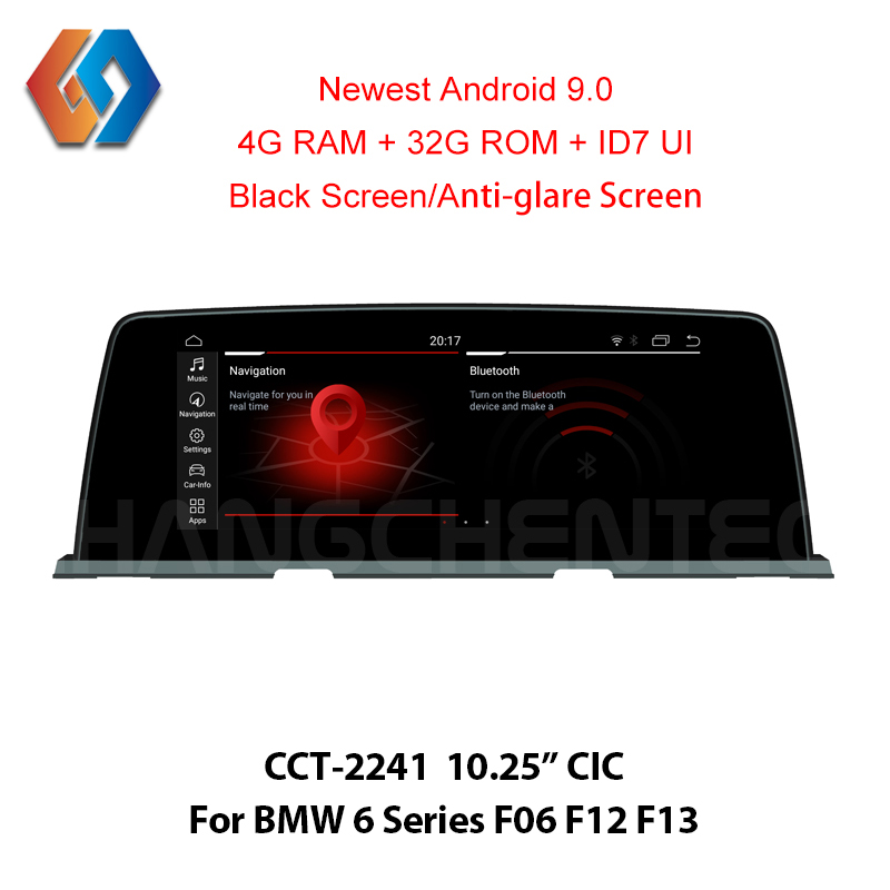 Android 9 0 Car Multimedia Px6 6 Core CPU for BMW 6 Series F06 F12 F13