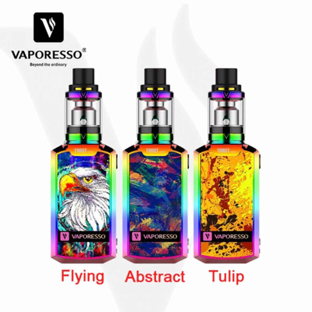 Original Vaporesso Tarot Nano Kit VECO Tank 2ml 80 W Box Mod Vape 2500mAh Electronic Cigarette Battery Vaporizer
