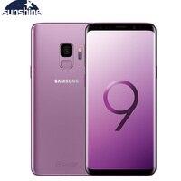 Оригинальный мобильный samsung Galaxy S9 G960F разблокированный LTE Android сотовый телефон 5,8