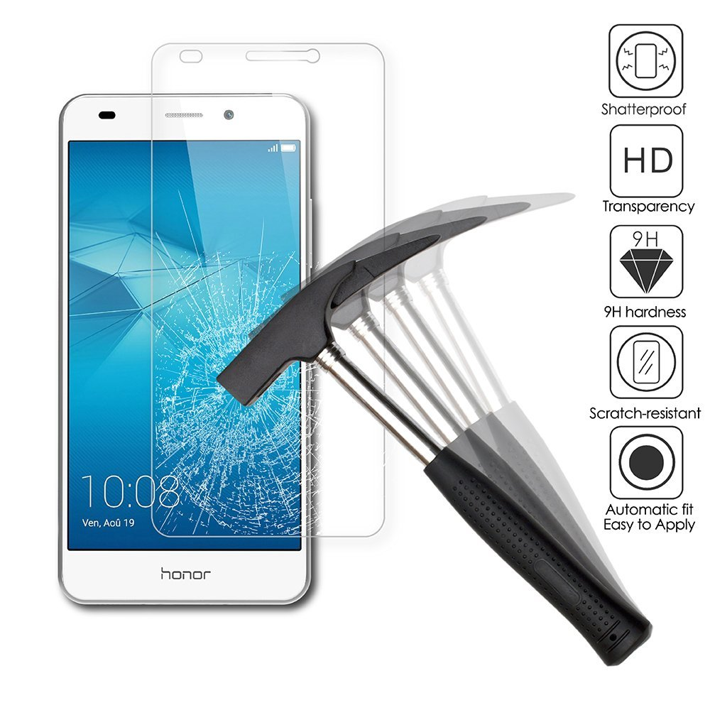 9H Tempered <font><b>Glass</b></font> For <font><b>Huawei</b></font> Honor5c GT3 <font><b>Honor</b></font> <font><b>5C</b></font> 7Lite NEM-L21/L22/L31/L51/AL10/TL00/UL10 Ultra-thin Screen Protector 5.2 inch image