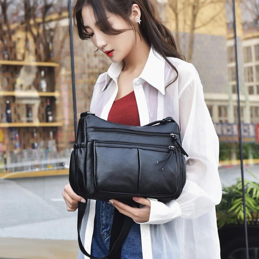 Molave Shoulder Bag new high quality fashion Vintage waterproof Leather Crossbody Messenger shoulder bag women ap17