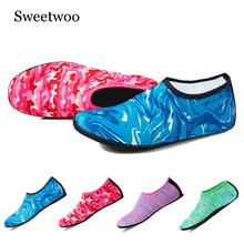Swimming Water Aqua Shoes Men Women Beach Unisex Flat Soft Walking Lover Yoga Non-slip Sneakers