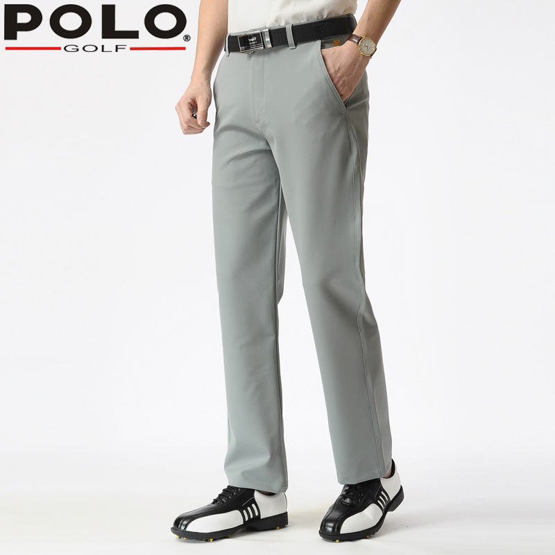 Full Size Clothes Men's Trousers POLO Golf Long Thin Pant Dry Fit Straight Loose Pants Version De Golf Pour Hommes 2018 Clothes pgm autumn winter waterproof men golf trousers thick keep warm windproof long pants vetements de golf pour hommes golf clothing