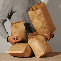 Kraft Food Packaging Paper bag Bread Bakery Bag, pack of 50