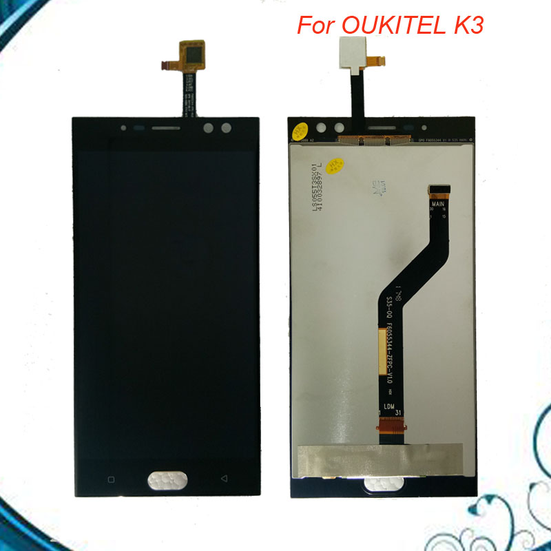 Tested Well For Oukitel K3 LCD Display and Touch Screen 5.5 Inch Assembly Mobile Phone Accessories For Oukitel K3