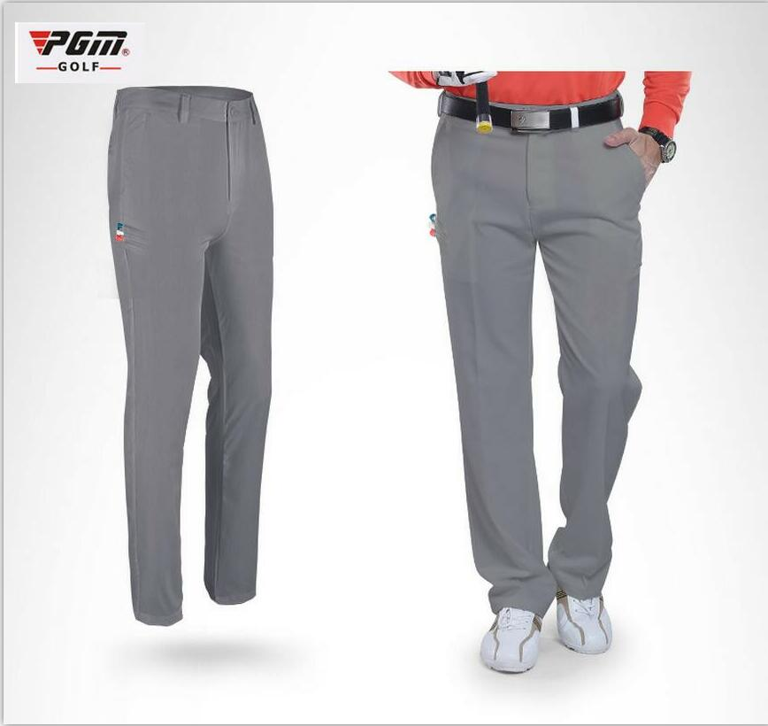 PGM Golf Slim Pants Men Summer Ultra Thin Breathable Quick dry Trousers with Golf Ball TEE Pocket Breathable Outdoor Golf PantsPGM Golf Slim Pants Men Summer Ultra Thin Breathable Quick dry Trousers with Golf Ball TEE Pocket Breathable Outdoor Golf Pants