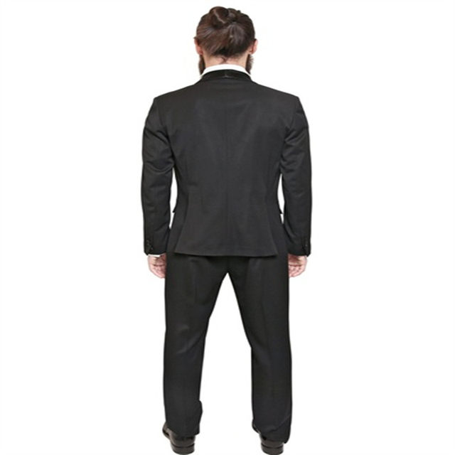 Online Shop Male Formal Italian Wedding Suits for Men Slim fit two ...