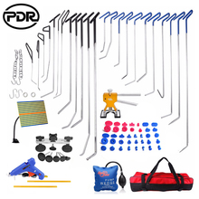 PDR Tools Hooks Push Rods Car Dent Repair Kit Tool To Remove Dents Paintless Dent Repair Door Dings Repair Kit