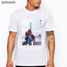 Hot sale spice girls print tee shirt homme summer top male t-shirt vintage white t men harajuku geek streetwear