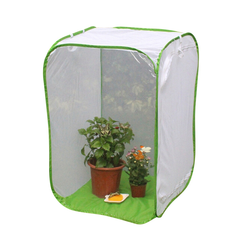 Praying Mantis Insect Butterfly Plant Cage Breeding Housing Enclosure Net LI