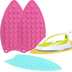 Silicone Non-stick Ironing Protection Anti-slip Home Rest Hanging Safety Accessories Iron Mat Heat Resistant Pad