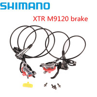 SHIMANO XTR M9120 Brake 4 Piston Mountain Bike XTR Hidraulic Disc Brake MTB ICE TECH Left & Right XTR Brake Better M9000 M9100