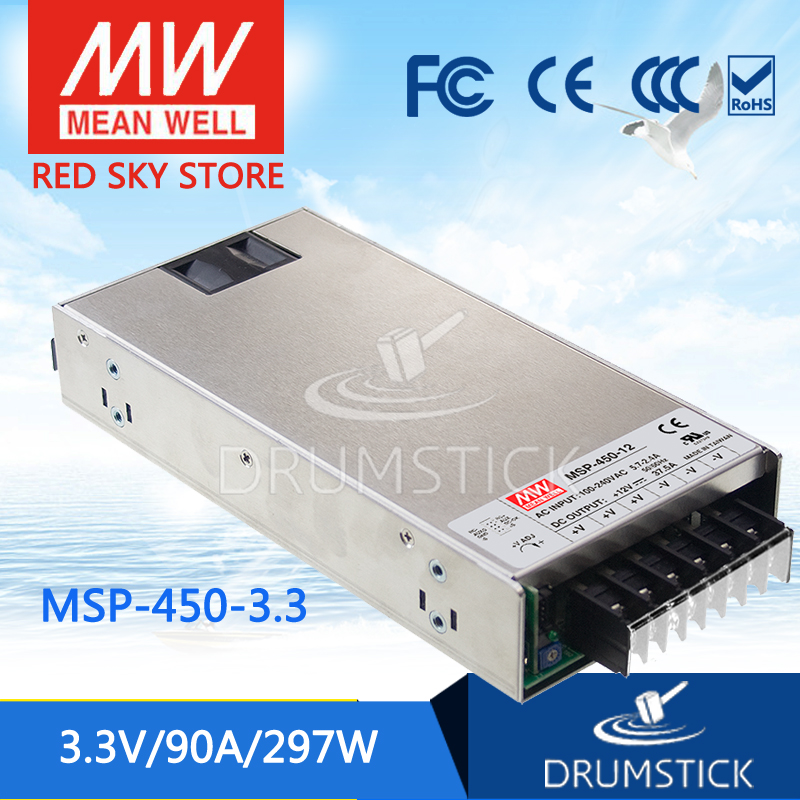 100% Original MEAN WELL MSP-450-3.3 3.3V 90A meanwell MSP-450 3.3V 297W Single Output Medical Type Power Supply 100% original mean well msp 100 36 36v 2 9a meanwell msp 100 36v 104 4w single output medical type power supply