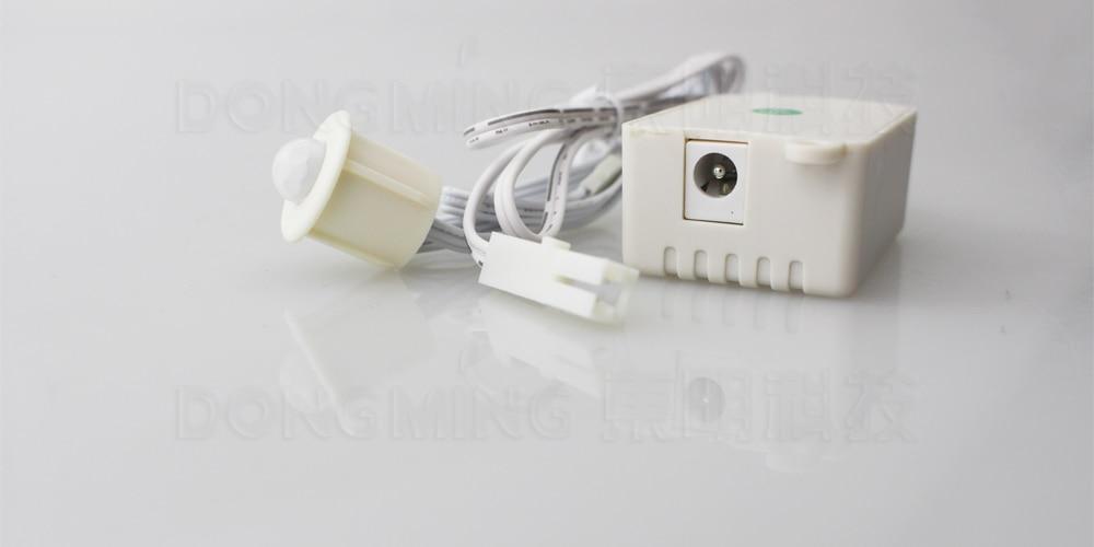 10PCS/LOT Body Infrared Module Energy Saving Sensor Switch PIR Motion Sensor spilt Switch Auto ON/OFF FOR LED Lights