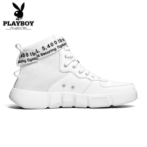 Image 2 - PLAYBOY Nieuwe Comfortabele Casual Schoenen Mannen PU Lederen Schoenen Hoge Kwaliteit Comfort Schoeisel Mode Platte Schoen Lace Up Boot schoenen