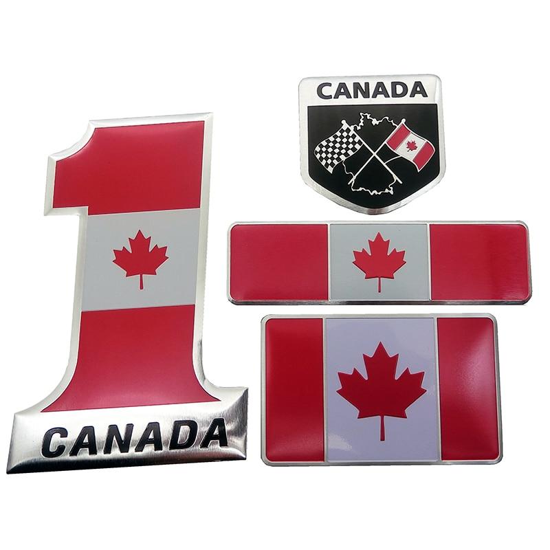 Canada 10 stickers set Canadian flag decals bumper stiker car auto bike laptop