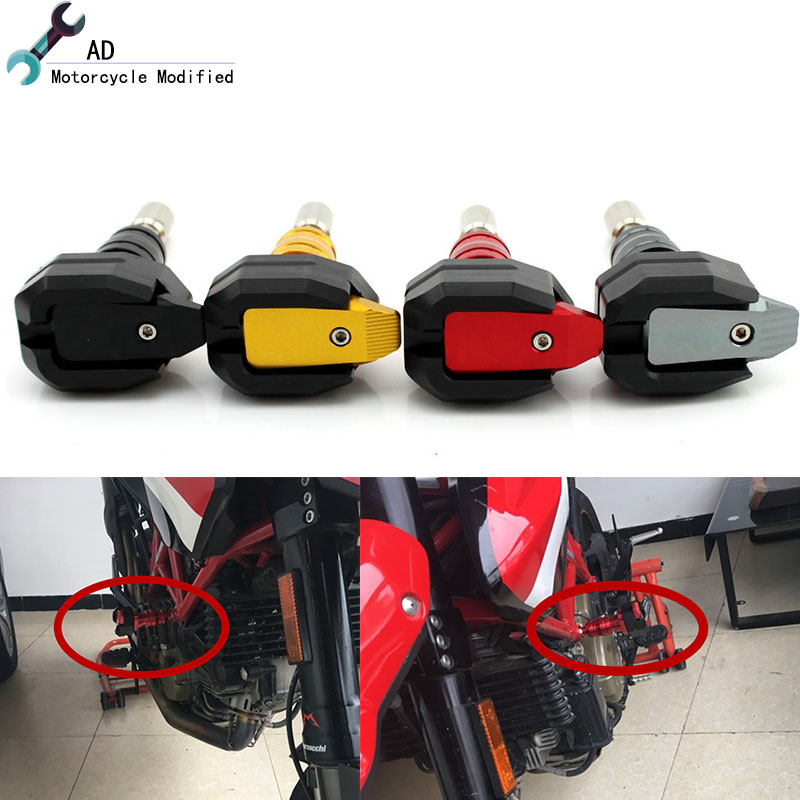 For Ducati Diavel 1200 696 795 1100 Crash Pads Frame Sliders Protector Moto bike Engine Guard Motorcycle Accessories