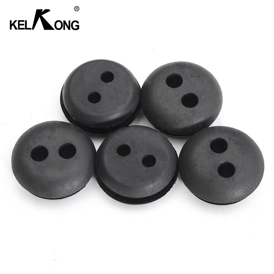 Image 5 - KELKONG 5PCS 2 Hole 20mm Rubber Grommet For String Craftsman Trimmer Lawn mower Chainsaw Blowers Brush Cutter Fuel Tank-in Carburetor from Automobiles & Motorcycles