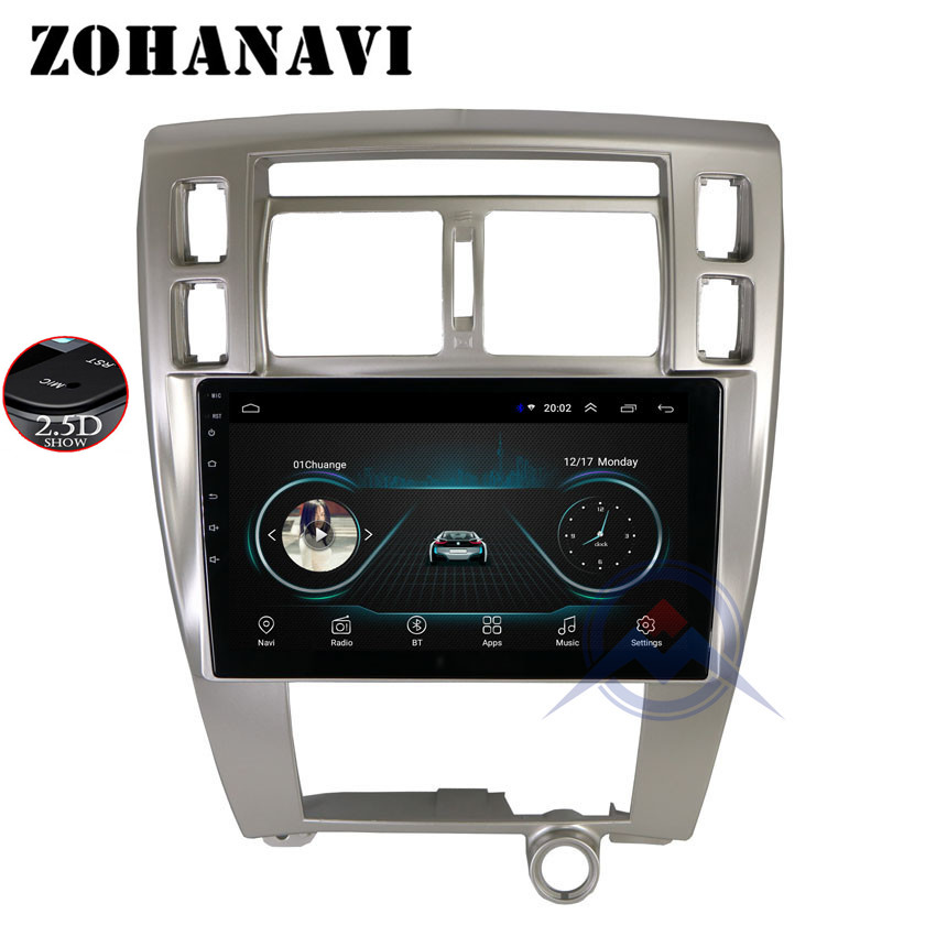 ZOHANAVI 10 2 inch Car DVD player for Hyundai Tucson 2006 2014 Android car radio audio
