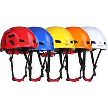 Adjustable Work Safety Helmet Hard Hat Unisex For Outdoor Hiking Tree Rock Climbing Caving Mountaineering Rescue