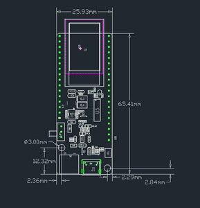 Image 4 - LILYGO®TTGO t koala ESP32 WiFi et Module Bluetooth 4 mo carte de développement basée sur ESP32 WROVER B ESP32 WROOM 32