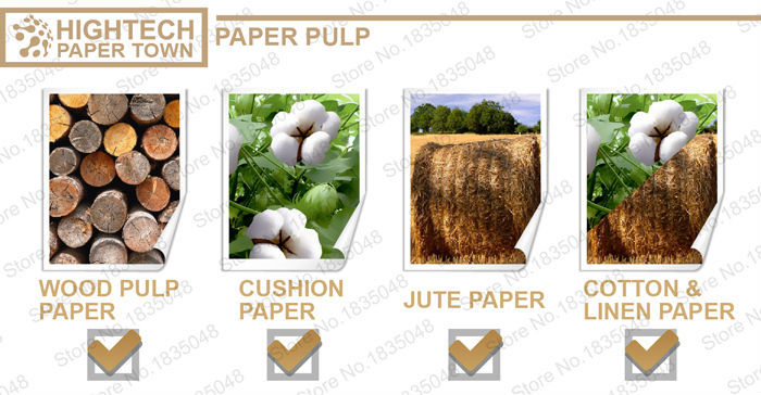 High Quality cotton and linen paper