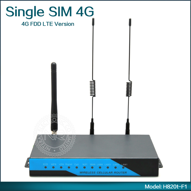 Portable 3G Wifi Router 4G SIM Card Router with Detachable Antenna support GPS ( Model: H820t-F1 )